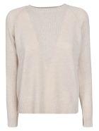 alyki Ribbed Knit Sweater - Natural