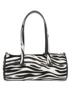 Les Petits Joueurs Emma Zebra Handbag - Black/white