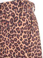 Sara Battaglia Pants Animalier W/pences - Brown