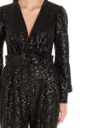 In The Mood For Love 'amber' Jumpsuits - Black