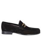 Salvatore Ferragamo Laced Shoes - Black