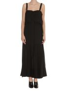 3.1 Phillip Lim Silk Gown With Ties - Black