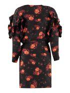 IRO Nucha Dress With Floral Print - black