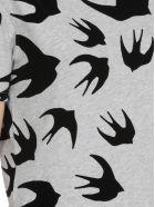 McQ Alexander McQueen Swallow Swarm T-shirt - Mercury Melange