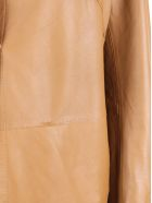 S.W.O.R.D 6.6.44 S.w.o.r.d. 6644 Leather Jacket - Brown