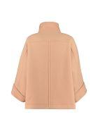 Chloé Wool Blend Coat - Camel