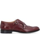 Church's Leather Monk-strap With Buckles - Burgundy