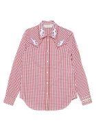 Golden Goose Shirt - Red check