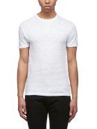 Officine Générale Short Sleeve T-Shirt - Bianco