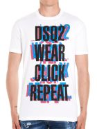 Dsquared2 'click Repeat' T-shirt - White