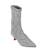 GIA COUTURE Ankle Boot Stretch Sock/low - Prince Of Galles