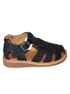 Pom d'Api Yapo Papy Sandals - Black/Brown