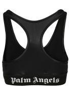 Palm Angels Classic Logo Sport Bra - Nero