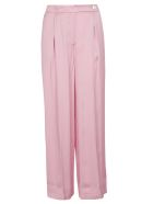 SEMICOUTURE Wide Leg Trousers - Pink