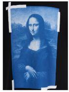 Off-White 'blue Monalisa' T-shirt - Black