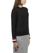 Thom Browne Striped Cuff Sweater - Blue