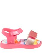 Melissa Pink Sandals For Girl With Clouds - Pink