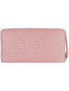 Jimmy Choo Pippa Leather Zip Around Wallet - Pink