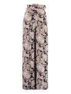 Zimmermann Printed Silk Pants - Multicolor