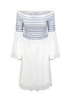 Blumarine Short Dress - Bianco