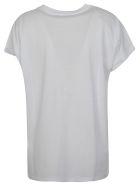 Balmain Logo T-shirt - Gab Blanc Noir