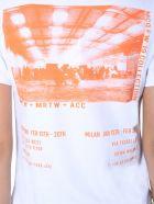 McQ Alexander McQueen Round Neck T-shirt - BIANCO