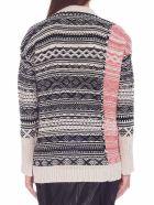 (nude) Sweater - Black&White
