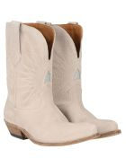 Golden Goose Wish Star Boots - BEIGE