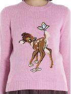 Miu Miu 'bambi' Sweater - Pink