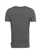 Philipp Plein Logo Cotton T-shirt - grey