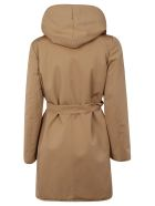 Max Mara Studio Hooded Short Trench
