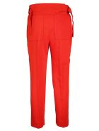 SportMax Cropped Trousers - Rosso