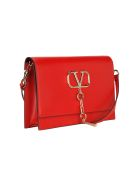 Valentino V Case Shoulder Bag - RED PURE