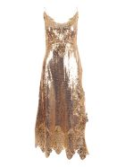 Paco Rabanne Polyester Dress - Gold