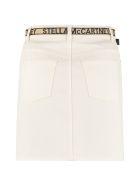 Stella McCartney Denim Mini Skirt - White