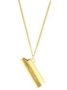 AMBUSH Lighter Case Necklace - Oro