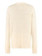 Giada Benincasa Embellished Crew-neck Sweater - White