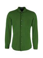 Drumohr Stretch Cotton Shirt - green