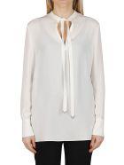 Valentino White Silk Blouse - White