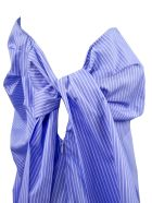 N.21 Blue Pinstripe Cotton Top - Rigato
