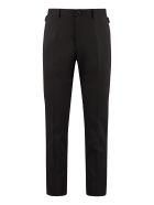Dolce & Gabbana Virgin Wool Trousers - black