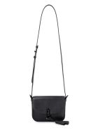 Furla Furla 1927 Leather Mini Crossbody Bag - black