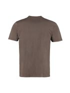 C.P. Company Cotton T-shirt With Chest Pocket - brown