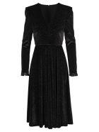Philosophy di Lorenzo Serafini Philosophy Velvet Glitter Dress - BLACK