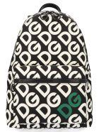 Dolce & Gabbana 'dg Mania' Bag - Black&White