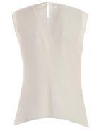 Emporio Armani Shirt W/s Curled - Bianco Seta