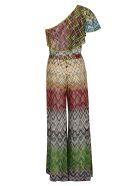 Missoni Zigzag Pattern Print Dress