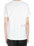 HERON PRESTON 'open Sesame' T-shirt - White