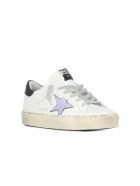 Golden Goose Sneakers Hi Star Lilla Laminated Star - White