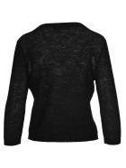 Max Mara Studio Knit Cardigan - BLACK